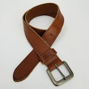 Eddie Bauer Genuine Leather Belt Made in Italy 36